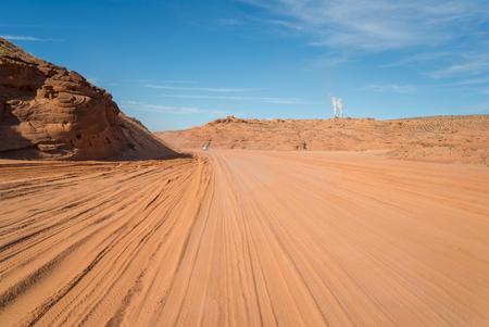 page arizona: The Antelope Canyon, near Page, Arizona, USA. The Antelope Canyon