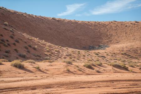 The Antelope Canyon, near Page, Arizona, USA. The Antelope Canyon