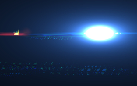 Abstract digital lens flare background, Flare Light , light leaks, overlays. Stock Photo