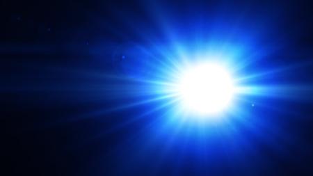 Digital lens flare , Futuristic Light Effect. Colorful Lens Flare. Star, Explosion