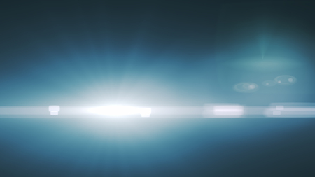 Digital lensFlare Light transition, lens flare, light leaks  ,Abstract overlays background. Stock Photo