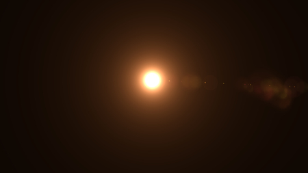Lens flare , Abstract overlays background. Imagens