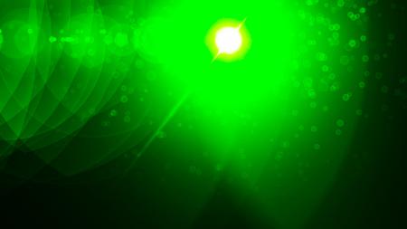 Realistic Len flare glow light effect on black background. Optical flares overlay or screen filter matte. Banco de Imagens - 120745808