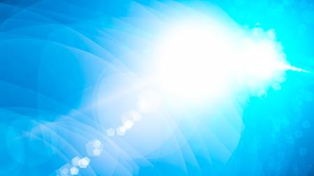 Realistic Len flare glow light effect on black background. Optical flares overlay or screen filter matte. Banco de Imagens - 120745744