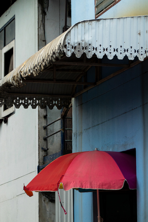 Street art abstract architecture in Bangkok