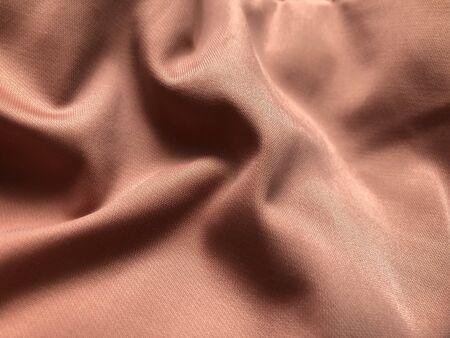 folds of pink fabric Stok Fotoğraf