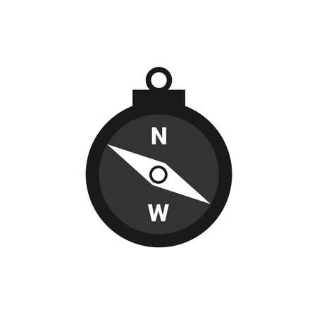 Compasses icon. compass vector illustration.