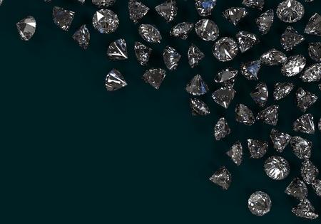 diamond stones: Gem Stones. Diamond on background with high quality. Stock Photo