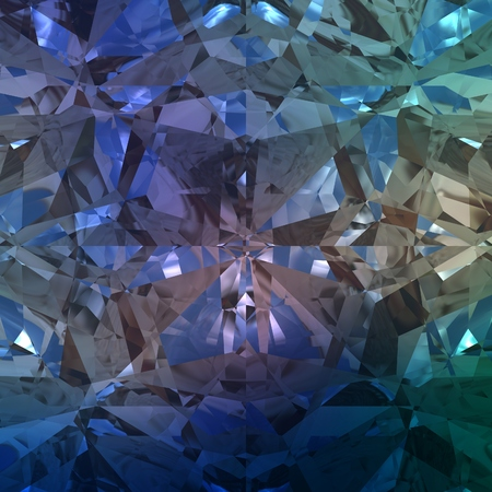 Blue Background of jewelry gemstone. Abstract and decorative.