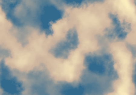 Seamless clouds background photo