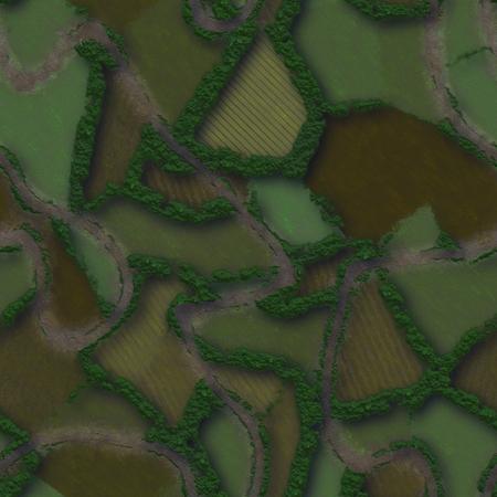Seamless green terrain background Banco de Imagens