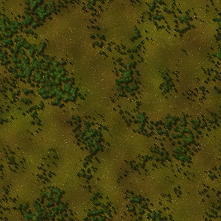 Seamless green terrain background 版權商用圖片