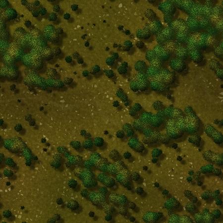 Seamless green terrain background Stock Photo