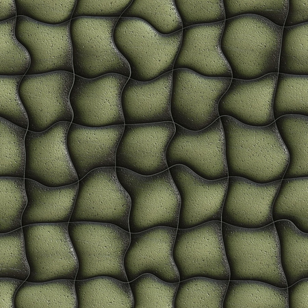 buttoned: Seamless background leather upholstery, it can be used as texture.