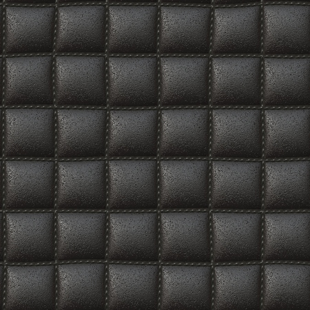 upholstered: Seamless background leather upholstery, it can be used as texture.