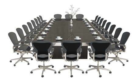 Mobili Per Ufficio Su : D mobili per ufficio illustrazione isolato su sfondo bianco foto