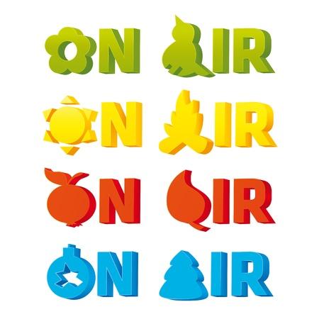 Logo On Air Çizim