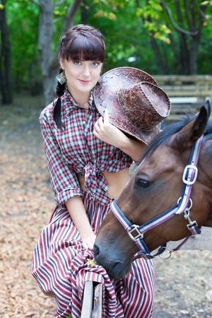 vaqueras: Gasto bastante tiempo vaquera con caballos