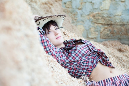Cowgirls need rest photo