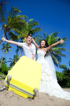 Honeymoon tourists photo