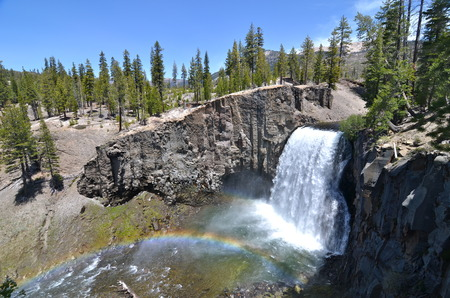 Rainbow Falls at Devil s Postpile National Monument