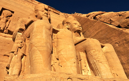 Abu Simbel Temple of King Ramses II, Egypt