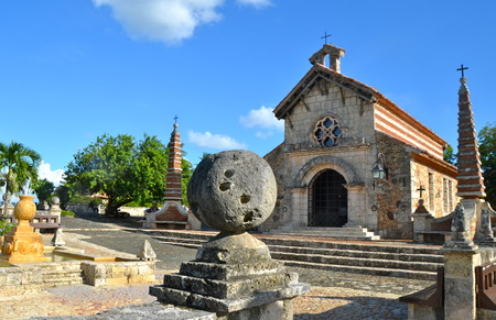 Old village Altos de Chavon in Dominican Republic.