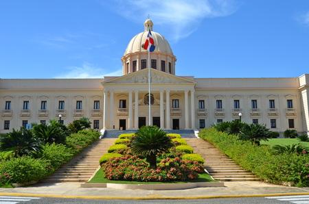 Palacio Nacional at Santo Domingo, Dominican Republic Imagens - 31432766
