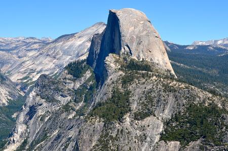 half dome: Yosemite National Park, California, USA Stock Photo