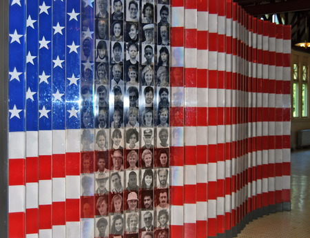 Immigration Museum, Ellis Island, New York City, USA.