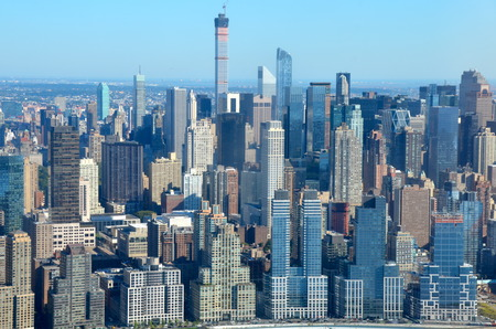 View of Manhattan, New York City, USA Sajtókép