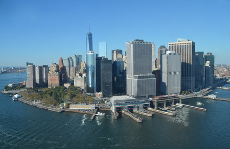 Cityscape view of Manhattan, New York City, USA.