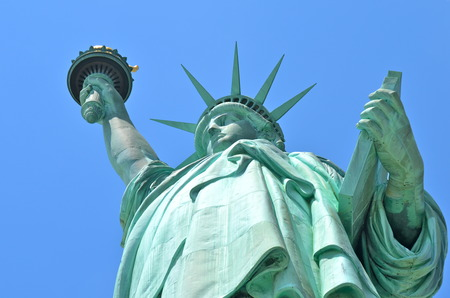 statue liberty: The Statue of Liberty in New York City