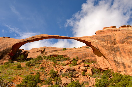 Beautiful Arches National Park, Utah, USA 版權商用圖片