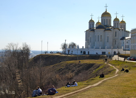 Dormition Cathedral in Vladimir, Vladimir region, Russia. photo