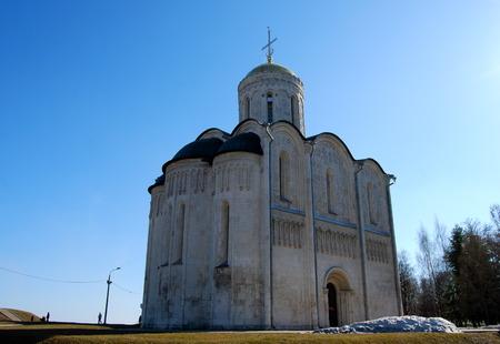 Cathedral of Saint Demetrius, Vladimir,  Russia. photo