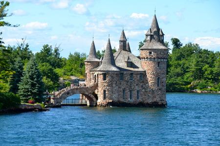 Boldt Castle Power House, One Thousand islands, New York State, USA.