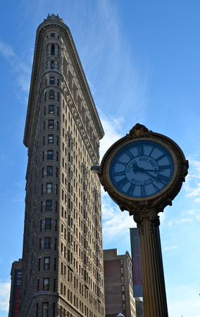 burnham: Manhattan skyline and the Flatiron Building, Manhattan, New York City, USA. Editorial