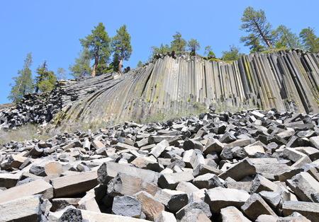 san joaquin: Devil Postpile National Monument, California, USA.