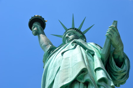 national freedom day: The Statue of Liberty in New York City