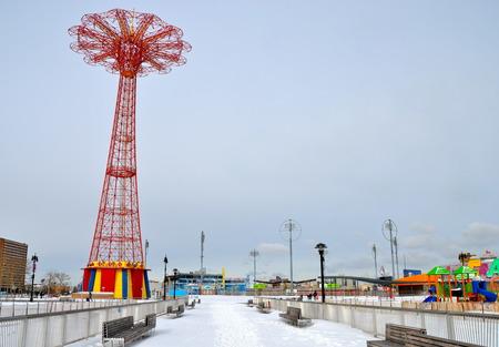 coney: Famous landmark in Brooklyn, Coney Island, NYC, USA
