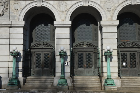 municipal court: Surrogates Courthouse, also known as the Hall of Records in Lower Manhattan, New York City, USA
