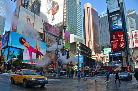 Times Square, Manhattan, New York City, USA.