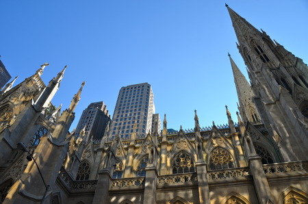 St. Patrick Cathedral, New York City, USA 版權商用圖片
