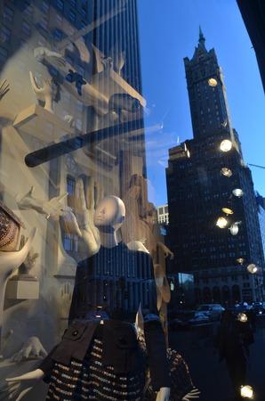window display: Window display at Bergdorf Goodman in NYC