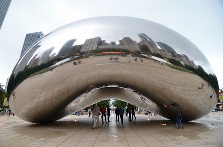 chicago city: Millennium Park, Chicago, Illinois, USA.