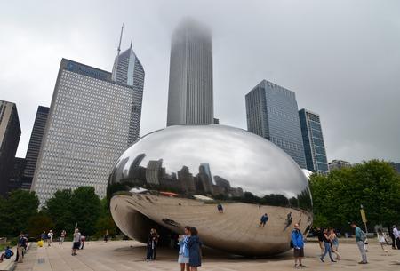 millennium: Millennium Park, Chicago, Illinois, USA.
