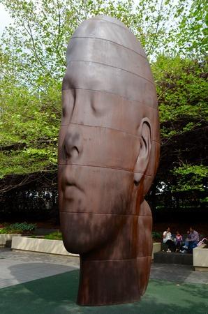 il: Millenium park in Chicago, IL, USA.