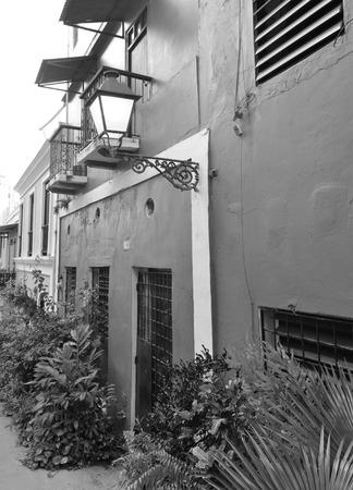 san juan: Part of the old city of San Juan, Puerto Rico.