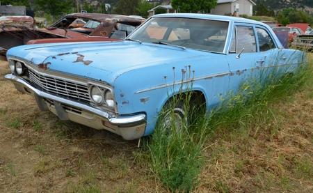 Vintage cars, Arizona, USA.